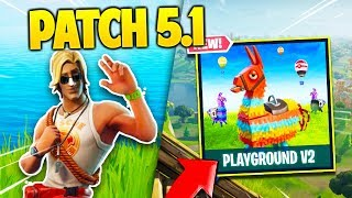 THAT'S NOT KNOW on FORTNITE's PATCH 5.1 ! SEASON 5