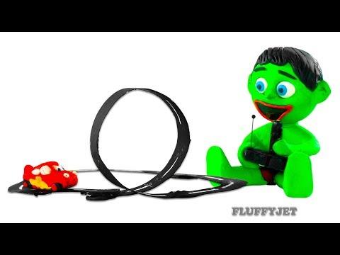 Cars 3 Lightning McQueen Family Fun playtime! Play Doh Stop Motion video Disney Pixar Cars kids Toys