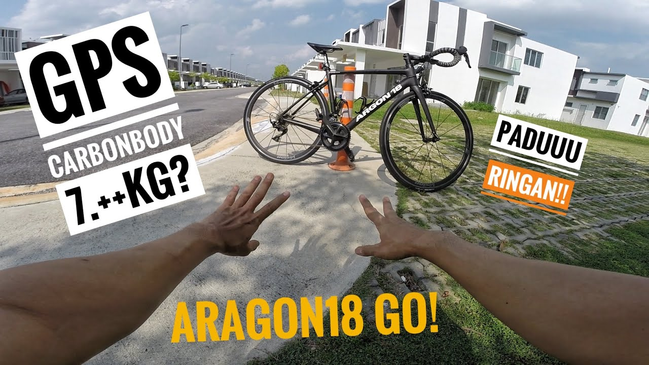 PANCIT WEI!! Try Bawak BASIKAL CARBON FIBRE | ARGON18 GO!