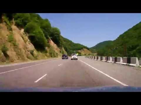 Tbilisi-Kutaisi - E60 - Time-lapse - 225 km in 20 minutes