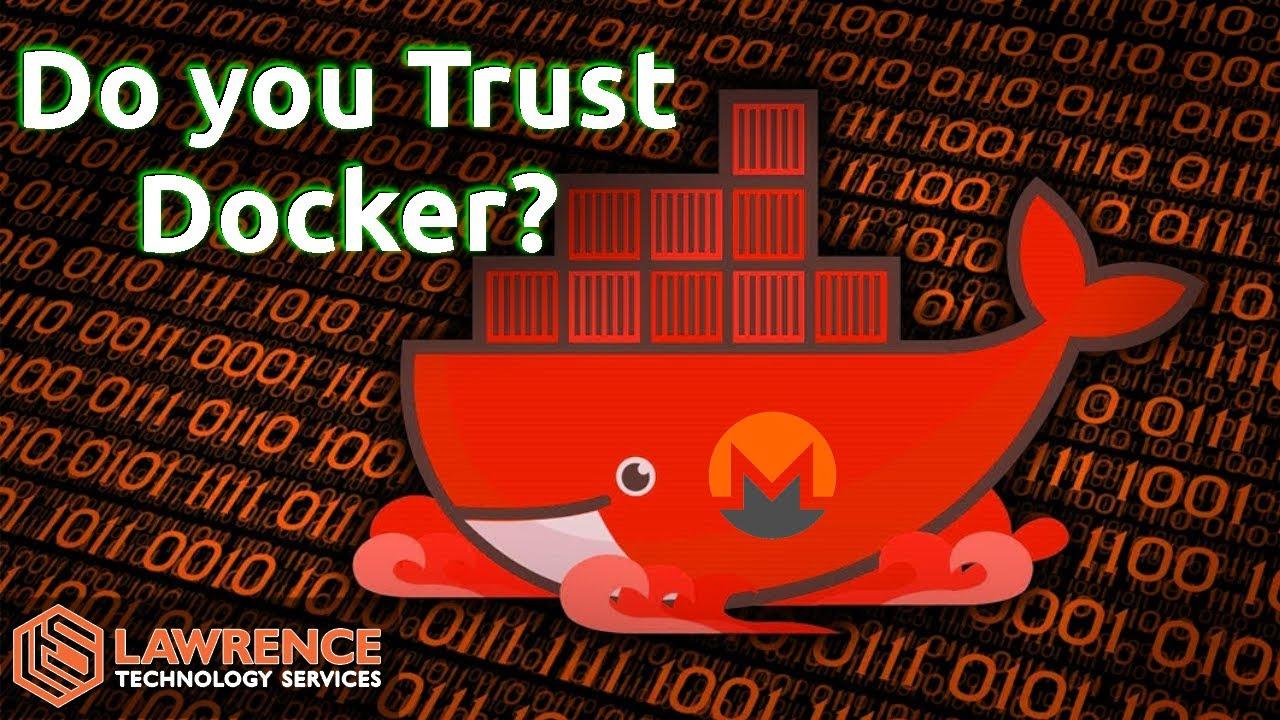 Docker Hub Images With Malicious Monero Money Miners?