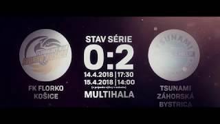 FLORKO KOŠICE vs. TSUNAMI ZÁHORSKÁ BYSTRICA | Pozvánka teaser