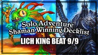 (Hearthstone) Shaman VS Lich King Winning Decklist 🍀🎲 ~ Knights of the Frozen Throne Expansion