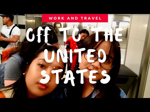 OFF TO THE UNITED STATES | Work and Travel 2018