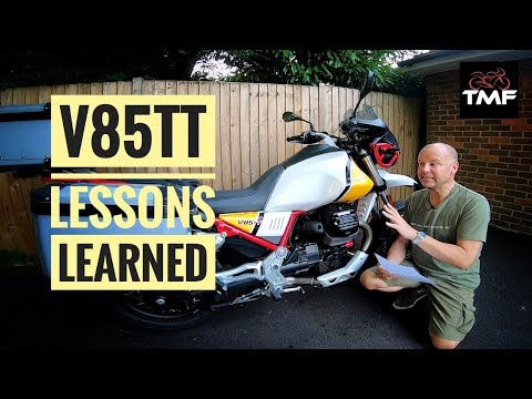 Moto Guzzi V85 TT - Lessons Learned Review