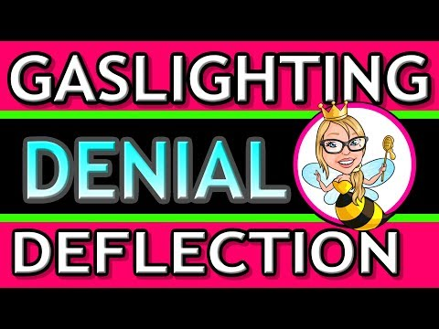 Cluster B/Narcissist Manipulation Tactics: Signs of Gaslighting, Denial & Deflection