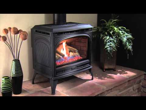 Quadra-Fire® Topaz Gas Stove Video