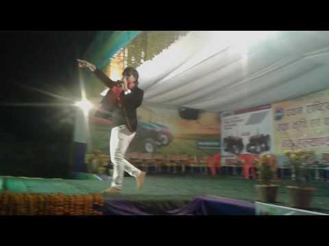 kamal khatri stage program  at Tillotama  औध्योगिक ब्यापार मेला..