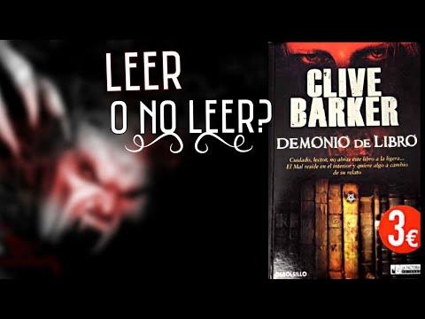 Leer O No Leer Demonio De Libro De Clive Barker Youtube