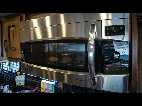 Rv Quick Tip How To Use A Microwave Convection Oven You