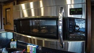 RV Quick Tip - How to Use a Microwave Convection Oven