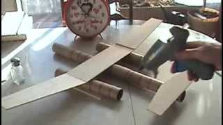 "Building The Chris-prod Industries New Balsa Wood Airplane ""re-use-asuarus"""