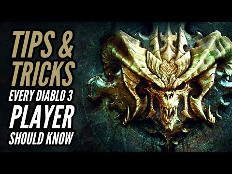 Diablo 3 - Tips & Tricks Every Diablo 3 Player Should Know - Season 18 - Patch 2.6.6