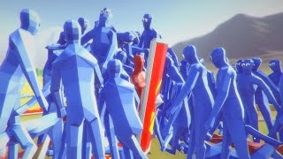 Totally Accurate Battle Simulator Funny Moments JEDI MASTER v 1000 PEASANTS TABS Update Gameplay