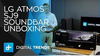 LG Atmos SJ9 Soundbar - Unboxing