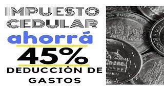 Impuesto cedular a la Renta Financieras 💵 ➡DEDUCI TODOS LOS GASTOS 💛COMO AHORRAR + INVERTIR