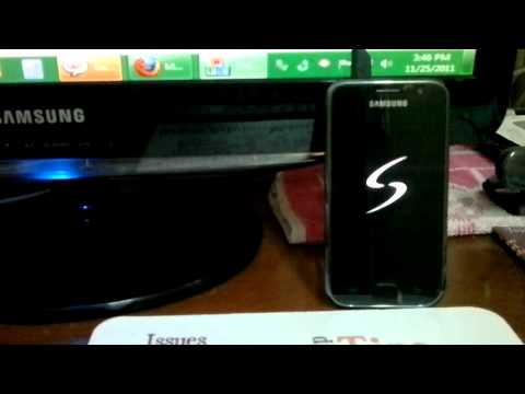 Update Samsung Galaxy S I9000 To XWJVU 2.3.5 Firmware