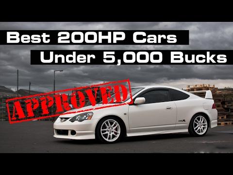 10 Cheap Ways To Get A Fun 200HP Car