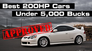 10 Cheap Ways To Get A Fun 200HP Car