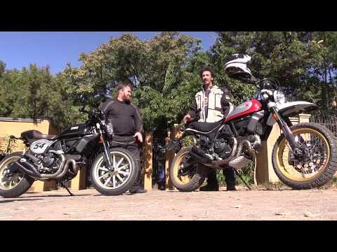 Ducati Scrambler Desert Sled And Cafe Racer