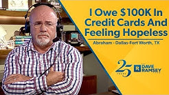 I Owe $100,000 In Credit Card Debt