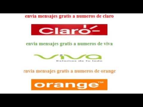 Como Enviar Mini Mensajes Gratis A Numeros De Claro, Viva Y Orange