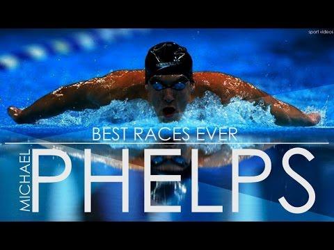 Michael Phelps BEST RACES EVER   MOTIVATION   TRAINING