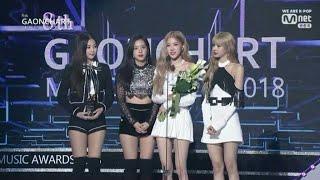 BLACKPINK Winning speech Gaon Chart Music Awards 2019 [190123]