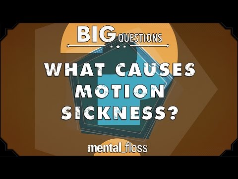 What causes motion sickness?  - Big Questions - (Ep. 210)