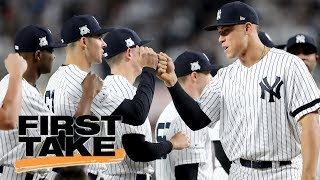 First Take previews Yankees vs. Indians ALDS Game 1 | First Take | ESPN