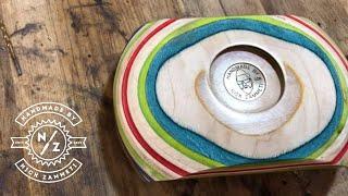 I made a Funkadelic bowl using old Skateboards.. 🎺
