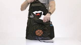 Road Trip 2.0 Basketball Backpack Features