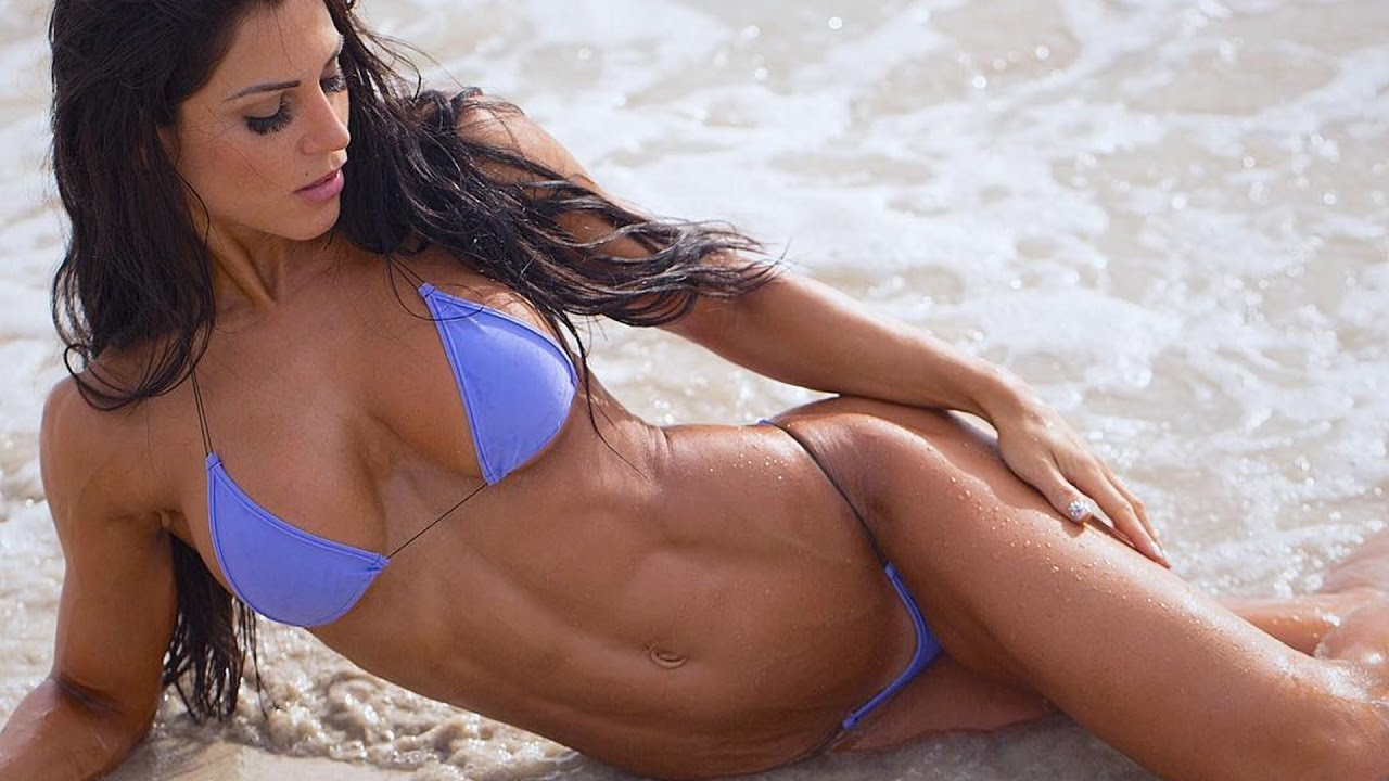 ANITA HERBERT Spring 2017 Fitness Motivation - Amazing Abs