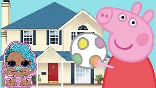 LOL Surprise • Nowi sąsiedzi • George i Świnka Peppa • bajka po polsku