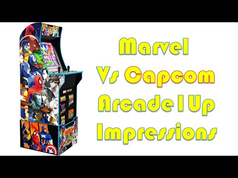 Marvel Vs Capcom Arcade1up Cabinet Impressions from Button Masher Chat