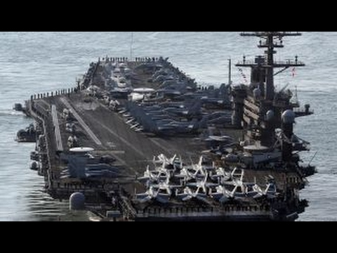 US Navy aircraft carrier heads back toward Korean peninsula