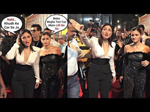 Kareena Kapoor Throws Tantrum When Alia Bhatt Asked For Lift At Jio Movie Mela 2019 Mp3