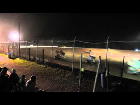 Chris Myers Feature Win at Skyline Speedway April 15, 2016