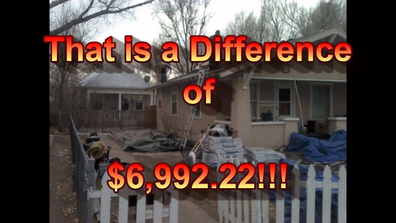 Roofing Contractor Colorado Springs & Insurance Supplements - 800 775 8647