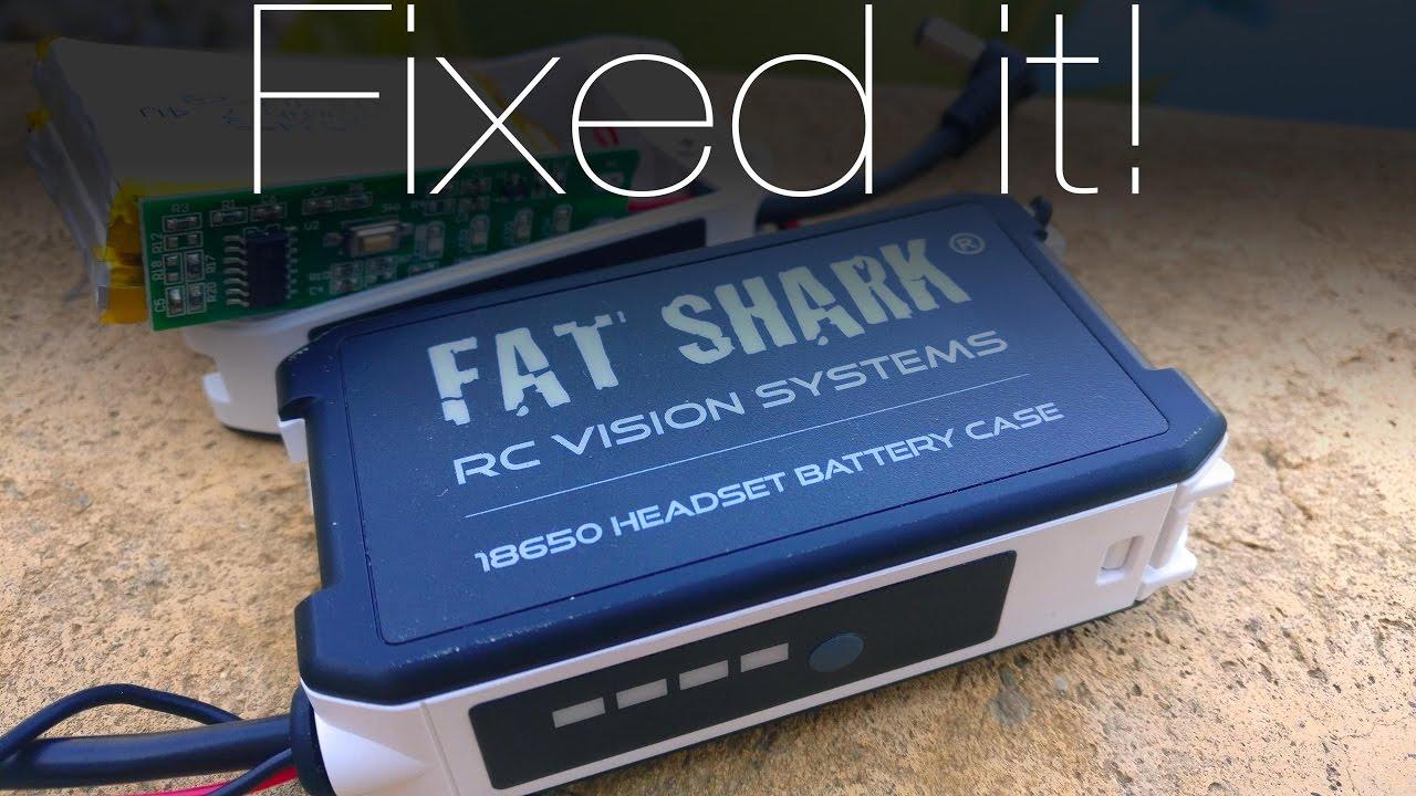 new product 4dd31 85477 Fatshark 18650 Case Mod