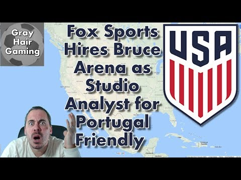 Fox Sports Hires Bruce Arena as Studio Analyst for USMNT vs Portugal Friendly - Exclusive Footage!