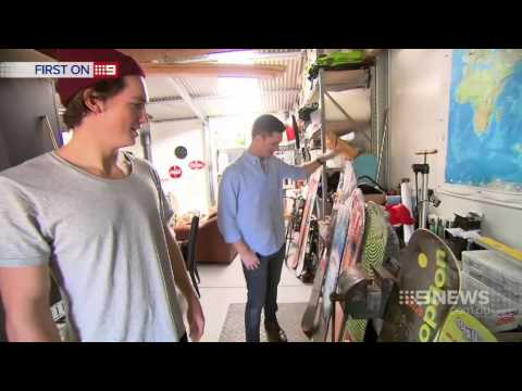 Scotty James - Channel 9 News 7th Feb 2015 HD