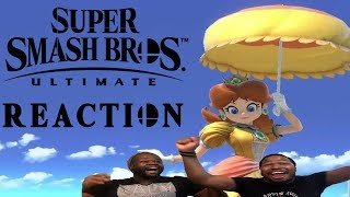 EVERYONE IS HERE! SUPER SMASH BROS ULTIMATE E3 REACTION