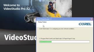 شرح تتبيت برنامج Corel VideoStudio 12