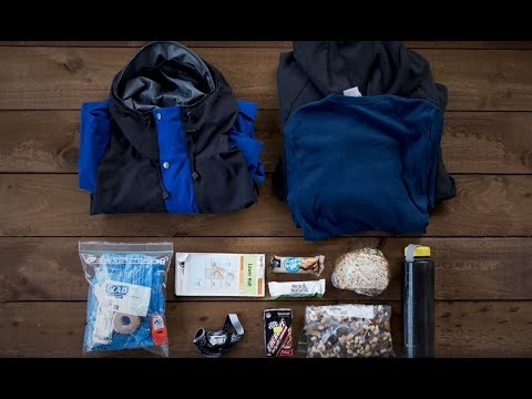 Get Outdoors Planning Essentials #10 Pack for a Day Walk