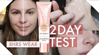 L'Oreal Skin Paradise Tinted Water Cream - 2 Day Wear Test + Review - Does it Last 8hrs?