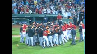 Red Sox Orioles FIGHT!!!! 7/8/11  Brawl LIVE