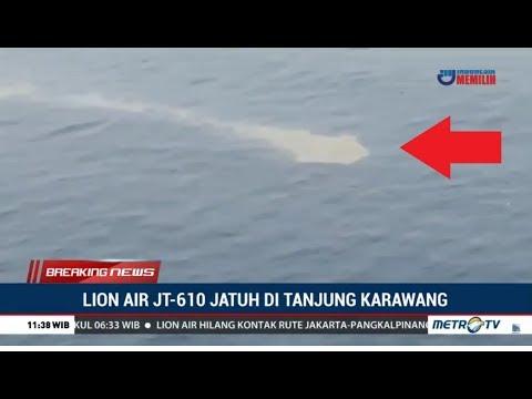 Pantauan Udara Lokasi Jatuhnya Pesawat Lion Air JT610 Mp3