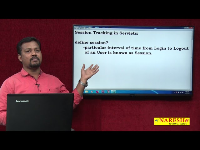 Servlet Tutorial Part : 10 | Introduction to Session Tracking Process | Advanced Java | Mr.Venkatesh
