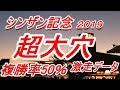 【競馬予想】シンザン記念2019 大穴新年1発データ